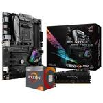 ASUS B350-F Raven Ridge 2400G Bundle