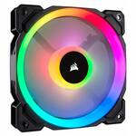 Corsair LL Series LL120 RGB 120mm PWM Fan, Dual Light Loop