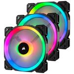 Corsair LL Series LL120 RGB 120mm Fan, 3-pack Fan w/ Lighting Node PRO
