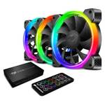 Cougar Vortex RGB Cooling Kit, 3x 120mm RGB Fan, Core Box and Remote