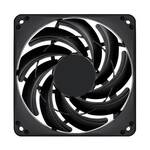 SilverStone FN124 120mm Case Fan, Slim Profile of 15mm Thickness