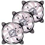Lian Li Bora Lite 120mm RGB PWM Fan, 3-pack Black frame Fans
