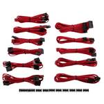 Corsair Premium Individually Sleeved PSU Cable Kit Pro Package, Red