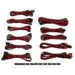 Corsair Premium Individually Sleeved PSU Cable Kit Pro Pack, Red/Black