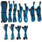 Corsair Premium Sleeved PSU Cable Kit Pro Package, Type 4, Blue/Black