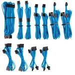 Corsair Premium Sleeved PSU Cable Kit Pro Package, Type 4, Blue