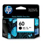 HP 60 Ink Cartridge, Black
