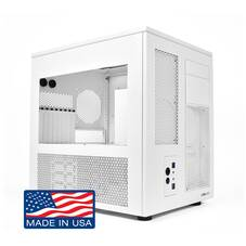 CaseLabs Mercury S8 White ATX Case,Standard Window with Ventilation x2