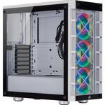 Corsair iCUE 465X RGB Mid-Tower White ATX Case, T/G Window, No PSU