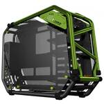 In Win D-Frame 2.0 Black/Green E-ATX Open Case, T/G Window, 1065W PSU