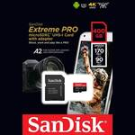 SanDisk Extreme Pro microSDXC 400GB SD Card