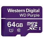 WD WDD064G1P0A Purple 64GB Surveillance microSDXC Card