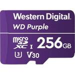 WD WDD256G1P0A Purple 256GB Surveillance microSDXC Card